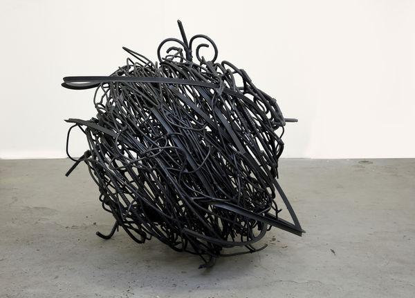Bild Nr. 15639 — Angelika Summa (*1952): Geländer (2018)