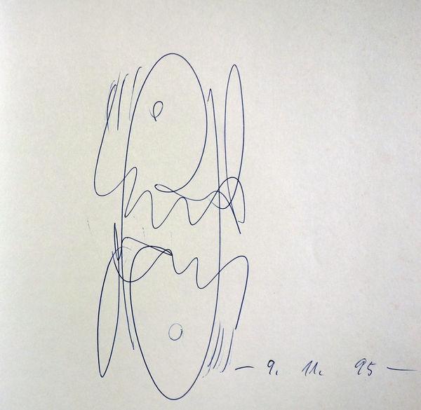 Bild Nr. 15832 — Karl Otto Götz (1914-2017): Giverny. Gemälde, Gouachen, Steindrucke 1985-1989.