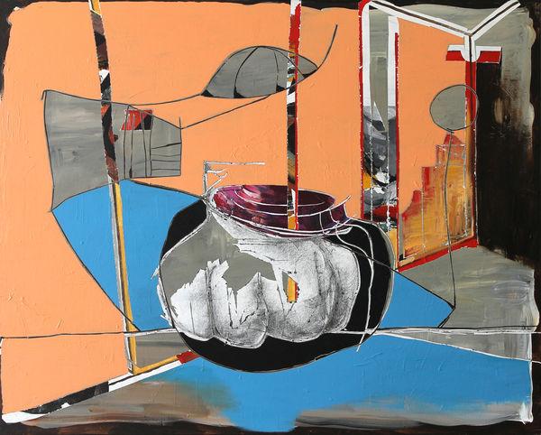 Bild Nr. 15878 — Andrea Lein (*1959): Schaufenster (2019)