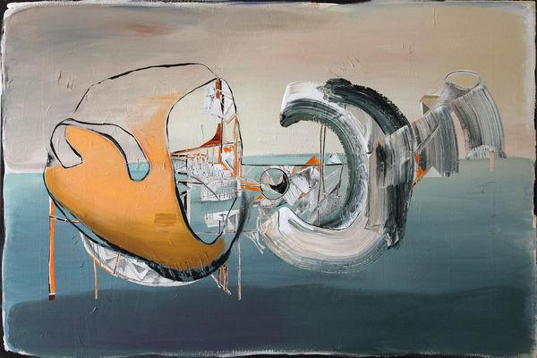 Bild Nr. 15884 — Andrea Lein (*1959): Pakt (2019)