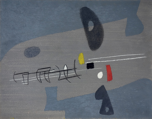 Bild Nr. 16271 — Max Ackermann (1887-1975): Bild 3 (1954)
