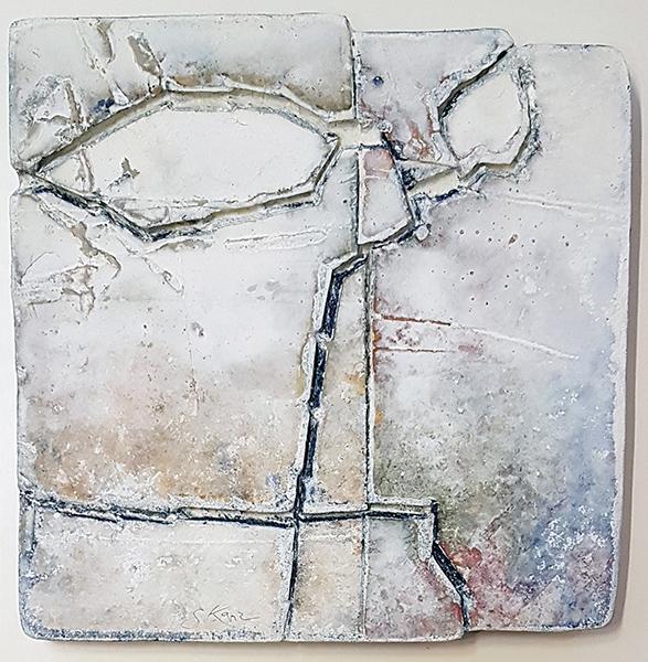 Bild Nr. 16286 — Gerd Kanz (*1966): Kleine Tafel (2020)