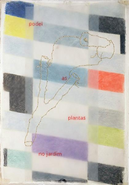 Bild Nr. 16343 — Rosario Rebello de Andrade (*1953): PODEI AS PLANTAS NO JARDIM (2014)
