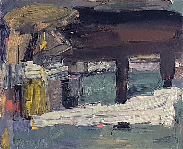 Bild Nr. 16391 — Ernst Wolf (*1948): Ohne Titel 76/02 (2002)
