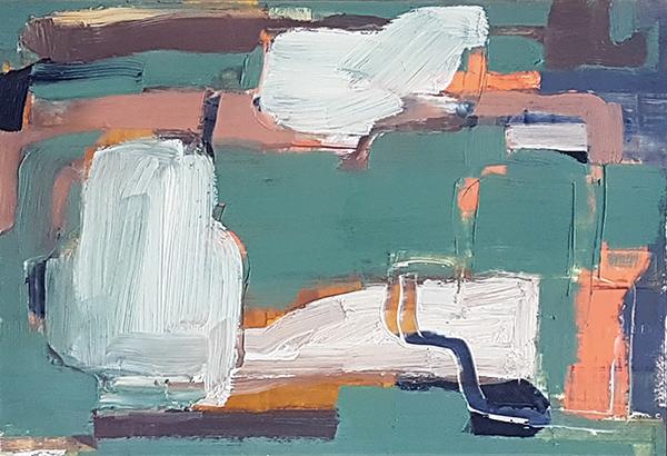 Bild Nr. 16392 — Ernst Wolf (*1948): Ohne Titel 39/02 (2002)