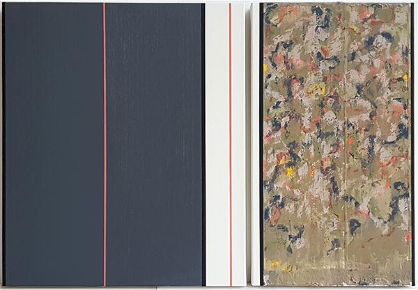 Bild Nr. 16393 — Ernst Wolf (*1948): Gleichzeit 4/19 (2019)