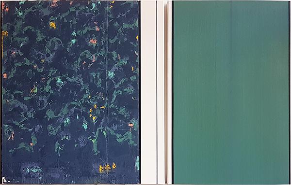 Bild Nr. 16394 — Ernst Wolf (*1948): Gleichzeit 6/19 (2019)