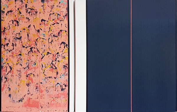Bild Nr. 16395 — Ernst Wolf (*1948): Gleichzeit 1/19 (2019)