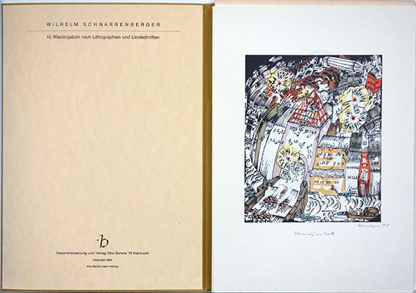 Bild Nr. 16396 — Wilhelm Schnarrenberger (1892-1966): Wiedergaben nach Lithographien und Linolschnitten (1966)