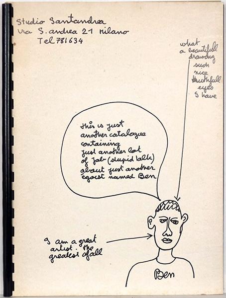 Bild Nr. 16639 — Ben Vautier (*1935): L´art est prétention (1970)