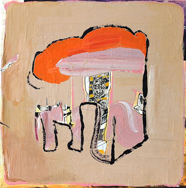 Bild Nr. 16668 — Andrea Lein (*1959): Verschränkung (2020)