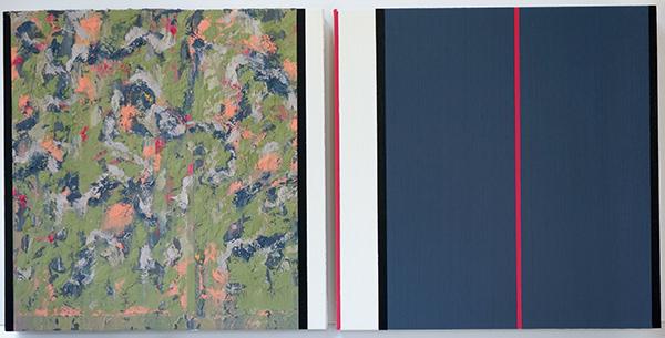 Bild Nr. 16716 — Ernst Wolf (*1948): Gleichzeit 4/20 (2020)