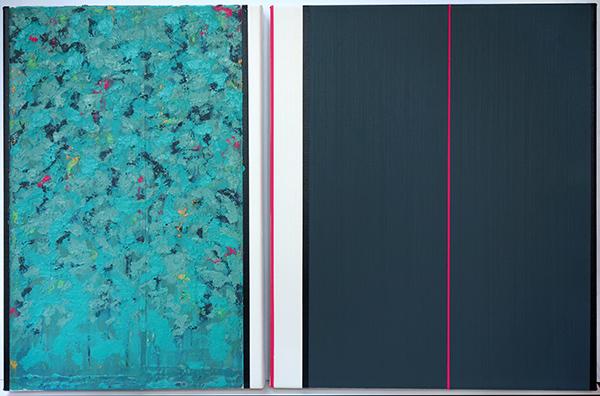 Bild Nr. 16717 — Ernst Wolf (*1948): Gleichzeit 5/20 (2020)