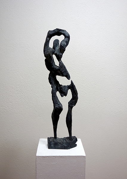 Bild Nr. 17098 — Hartmut Hornung (*1952): Gymnastin (2011)