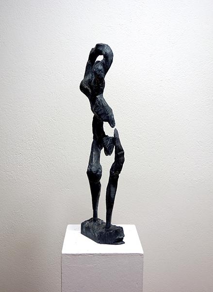 Bild Nr. 17099 — Hartmut Hornung (*1952): Gymnastin (2011)