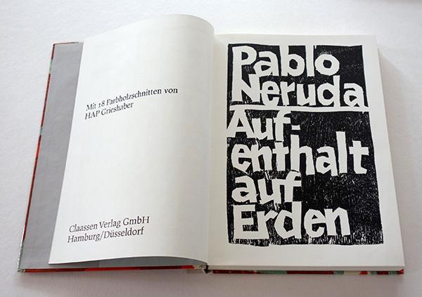Bild Nr. 17117 — HAP Grieshaber (1909-1981): Aufenthalt auf Erden.