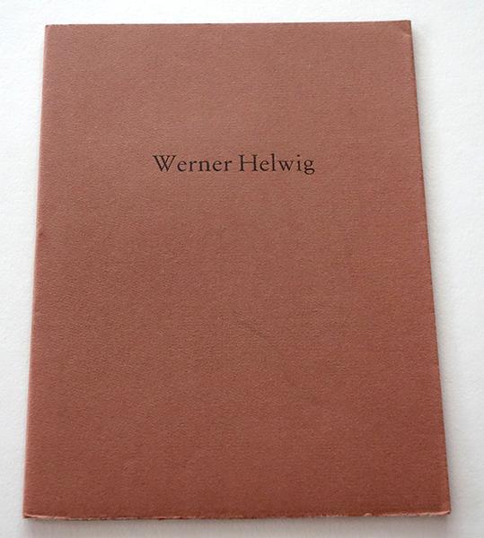 Bild Nr. 17138 — Werner Helwig: Grottensprüche