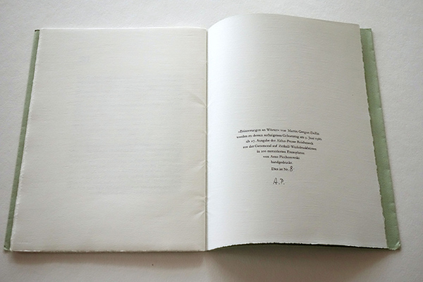 Bild Nr. 17148 — Martin Gregor-Dellin: Erinnerungen an Wörter