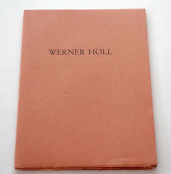 Bild Nr. 17152 — Werner Höll (1898-1984): Monolog über Kunst. Aus den Tagebüchern des Künstlers