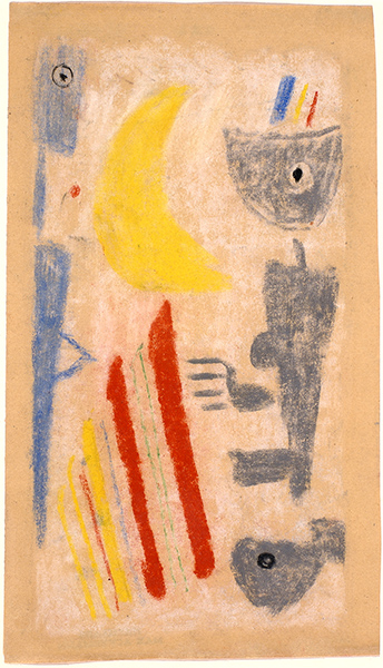 Bild Nr. 17165 — Max Ackermann (1887-1975): Ohne Titel (1943)