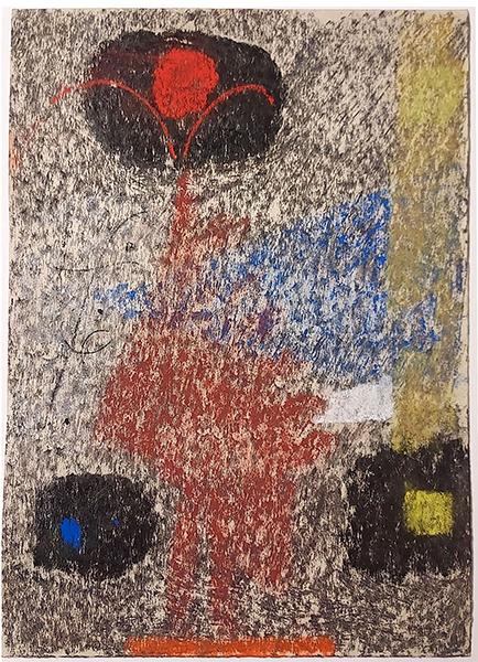 Bild Nr. 17166 — Max Ackermann (1887-1975): Ohne Titel (1957)