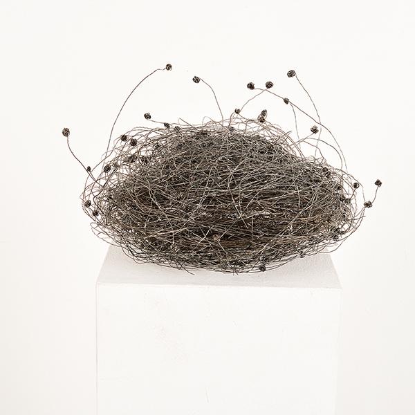 Bild Nr. 17623 — Angelika Summa (*1952): Nest (2019)