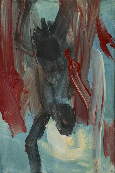 Bild Nr. 17722 — Robert Weissenbacher (*1983): Der Sturz des Ikarus (I) (2020)