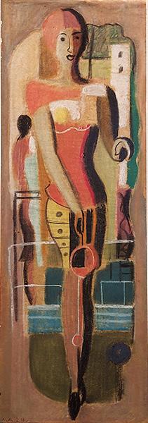 Bild Nr. 17726 — Max Ackermann (1887-1975): Gärtnerin (1929)