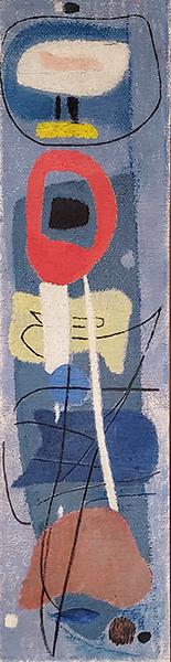 Bild Nr. 17727 — Max Ackermann (1887-1975): Emporstrebendes (1953)