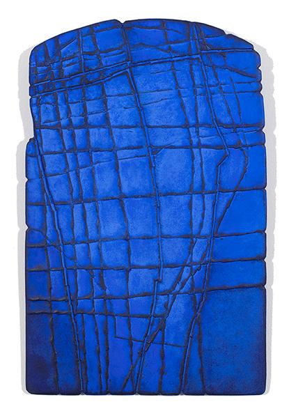 Bild Nr. 17786 — Gerd Kanz (*1966): Ultramarinblau (2017)