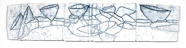 Bild Nr. 17812 — Gerd Kanz (*1966): Inseln lassen Brücken bauen (2020)