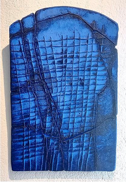 Bild Nr. 17823 — Gerd Kanz (*1966): Ultramarinblau (2017)