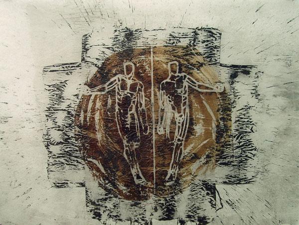 Bild Nr. 193 — Michael Morgner (*1942): Mit Kreis (2006)