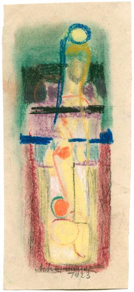 Bild Nr. 3048 — Max Ackermann (1887-1975): Ohne Titel (1923)