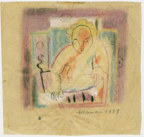 Bild Nr. 3049 — Max Ackermann (1887-1975): Ohne Titel (1931)