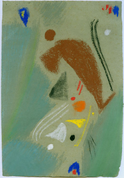 Bild Nr. 3053 — Max Ackermann (1887-1975): Ohne Titel (Hymne) (1953)