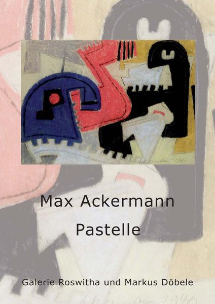 Bild Nr. 3122 — Max Ackermann (1887-1975): Max Ackermann 1887-1975 : Pastelle (2008)