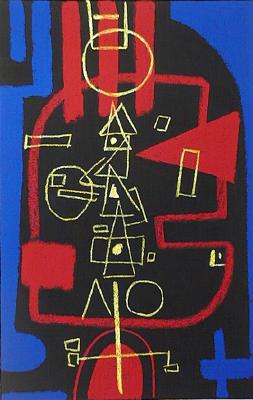 Bild Nr. 385 — Max Ackermann (1887-1975): Ohne Titel (1973)