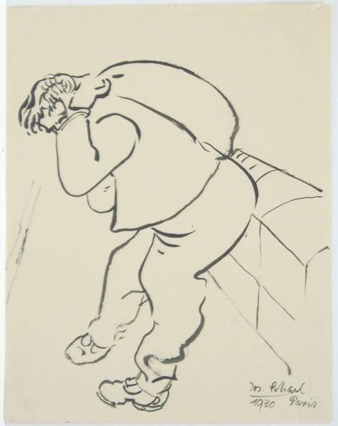 Bild Nr. 3871 — Josef Scharl (1896-1954): Lastenträger (1930)