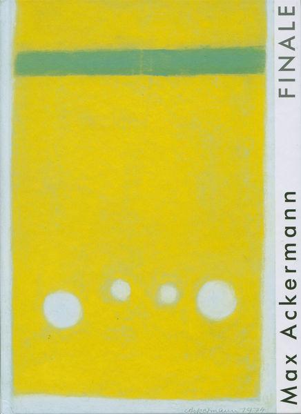 Bild Nr. 4779 — Max Ackermann (1887-1975): Finale (2010)