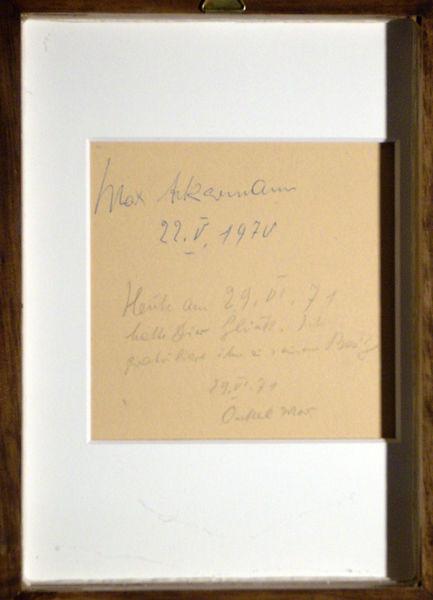 Bild Nr. 4823 — Max Ackermann (1887-1975): 22.V.1970 (1970)