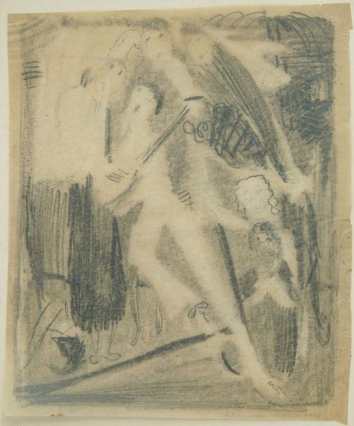 Bild Nr. 6305 — Max Ackermann (1887-1975): ohne Titel (1919)