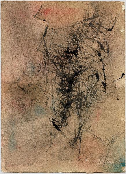 Bild Nr. 7360 — Eugen Batz (1905-1984): Ohne Titel (1966)