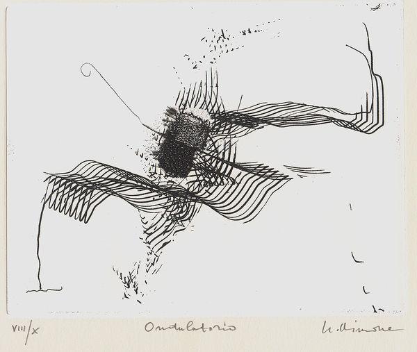 Bild Nr. 7385 — Nino Aimone (1932-2020): Intermittenze (1992)