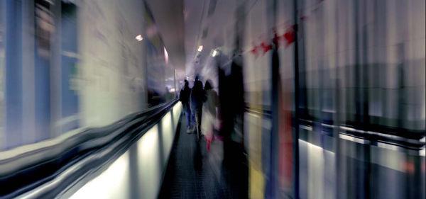 Bild Nr. 7402 — Wolf-Dietrich Weissbach (*1952): U-Bahn Paris 16