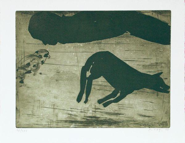 Bild Nr. 7703 — Richard Vogl (*1952): Mappe: von tiern