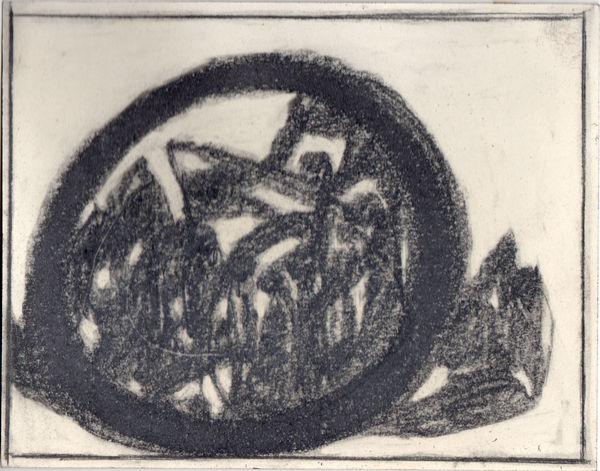 Bild Nr. 8355 — Adolf Hölzel (1853-1934): Kreiskomposition (1930)