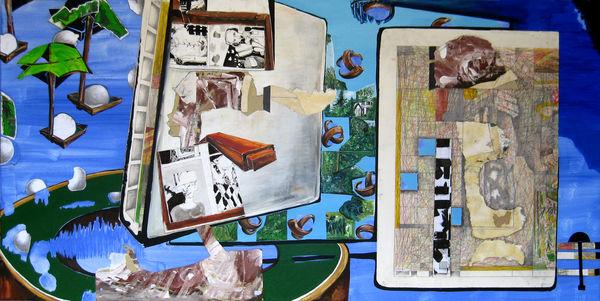 Bild Nr. 8402 — Andrea Lein (*1959): Stückgut (2011)
