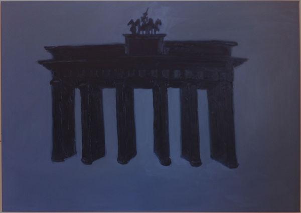 Bild Nr. 9927 — Wolfgang Häberle (*1951): B.T. -Zeichen (2012)